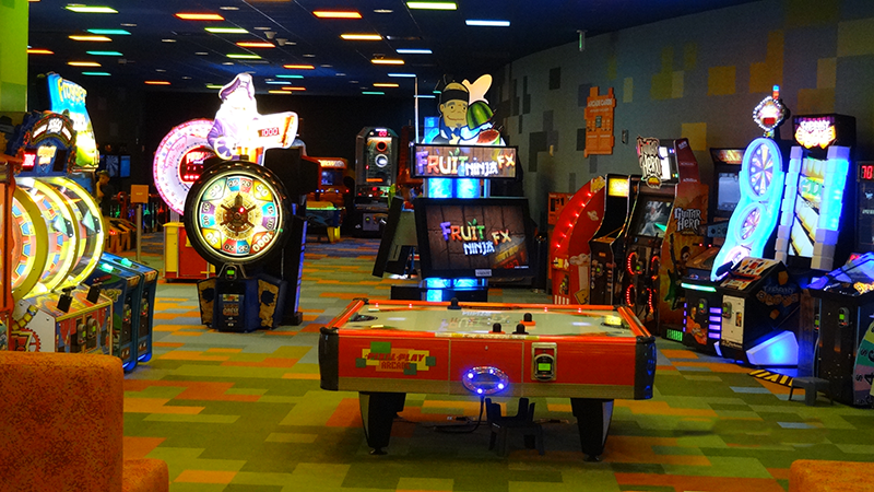 Pixel Play Arcade at Disney's Art of Animation Resort