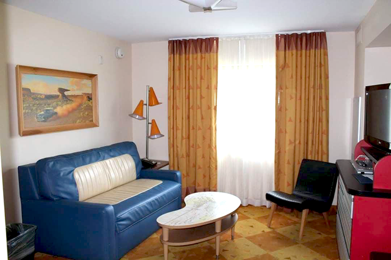 Cars Suite Living Area at Art of Animation Resort