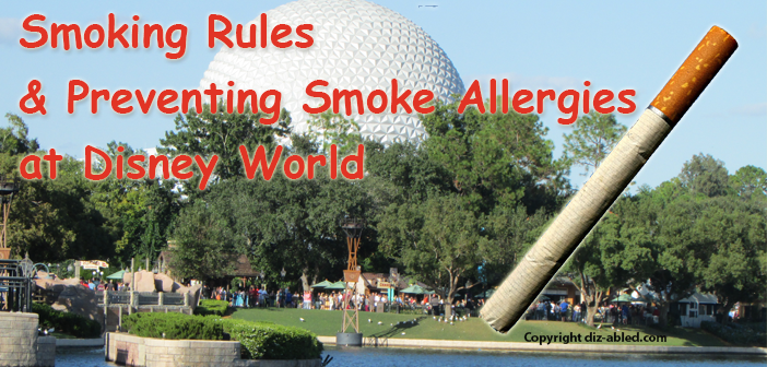 smoking rules at disney world and preventing allergies