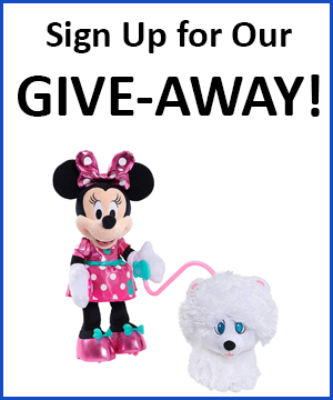 Disney World plush give-away