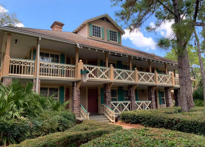 Alligator Bayou Guest Rooms at Disney's Port Orleans Riverside Resort