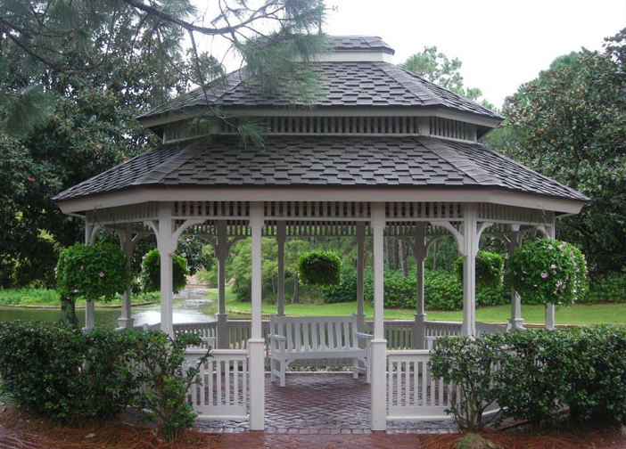 Disney's Port Orleans Riverside Resort Gazebo With River View