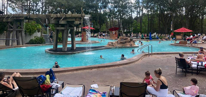 Main Pool at Disney's Port Orleans Riverside Resort