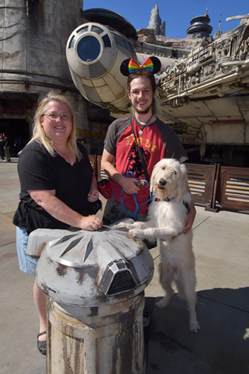 Mom with autism visiting Disney World with her autistic son and service dog