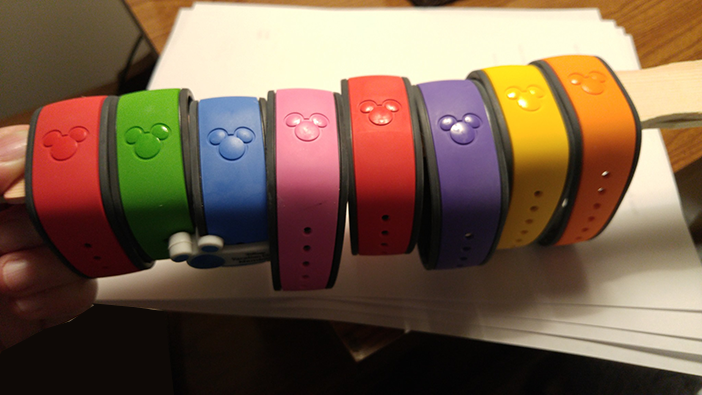 Free Magic Bands for Disney World Resort Guests