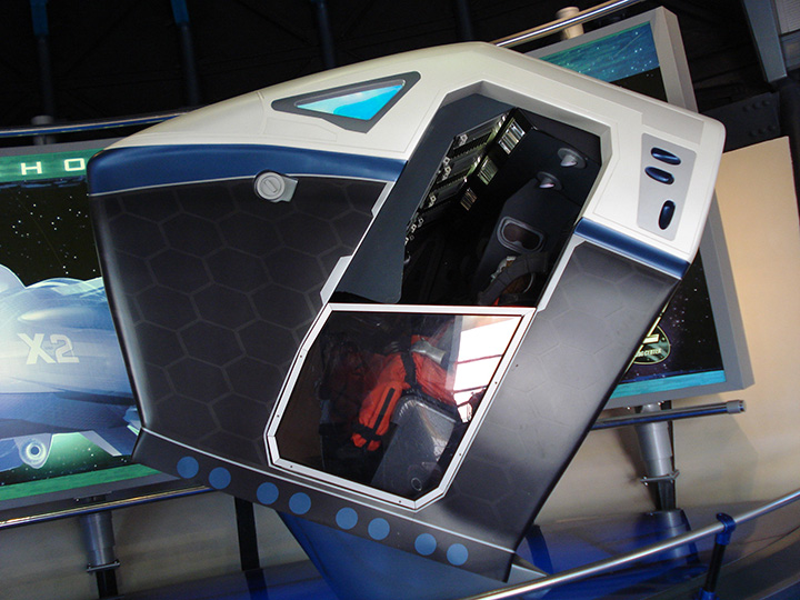 Sample Test Vehicle for Mission Space
