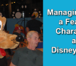 Managing with a fear of characters at disney world