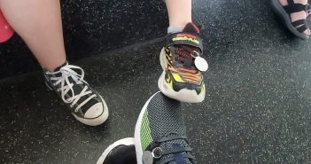 GPS Trackers on sneakers
