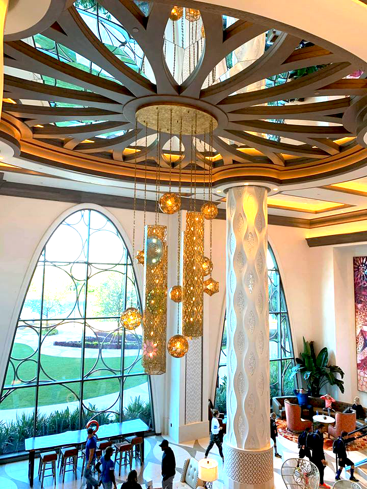 The Gran Destino Lobby is Filled With Art!