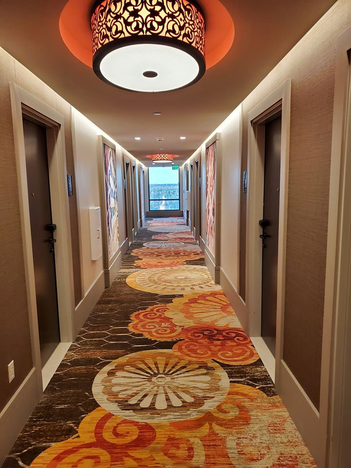 Coronado Springs Tower room hallway