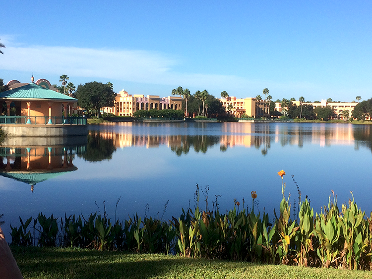 Disney's Casitas Section at Disney's Coronado Springs Resort