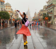 managing in the rain at disney world