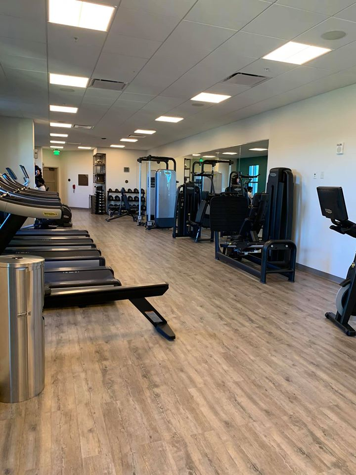 Fitness Center in the Gran Destino Tower at Coronado Springs Resort
