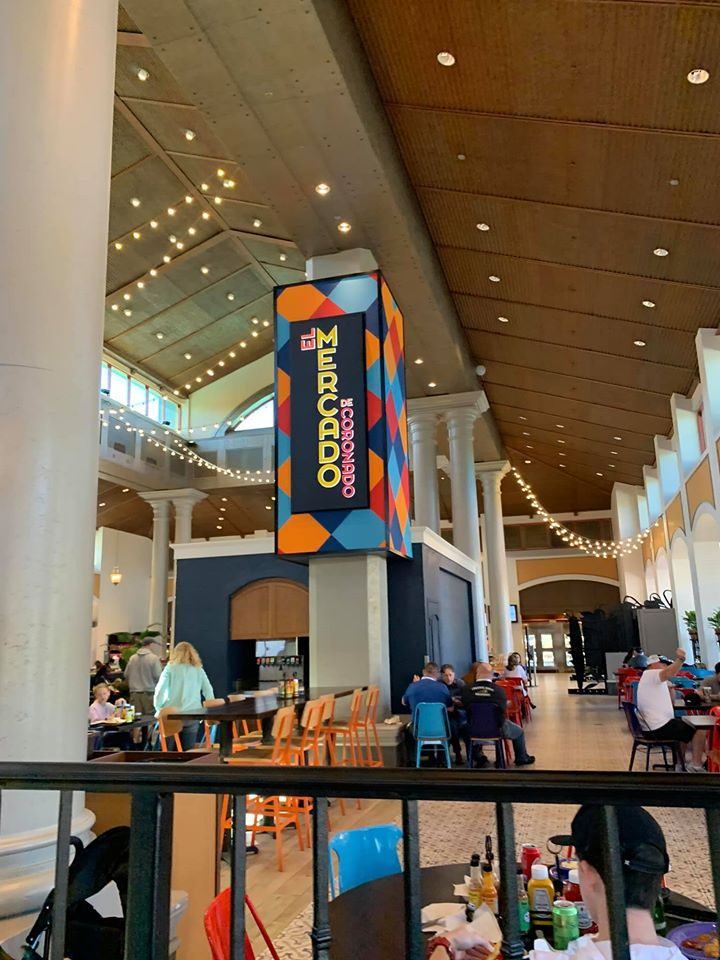Mercado - Food Court at Coronado Springs Resort (photo by Tracey Hickman)