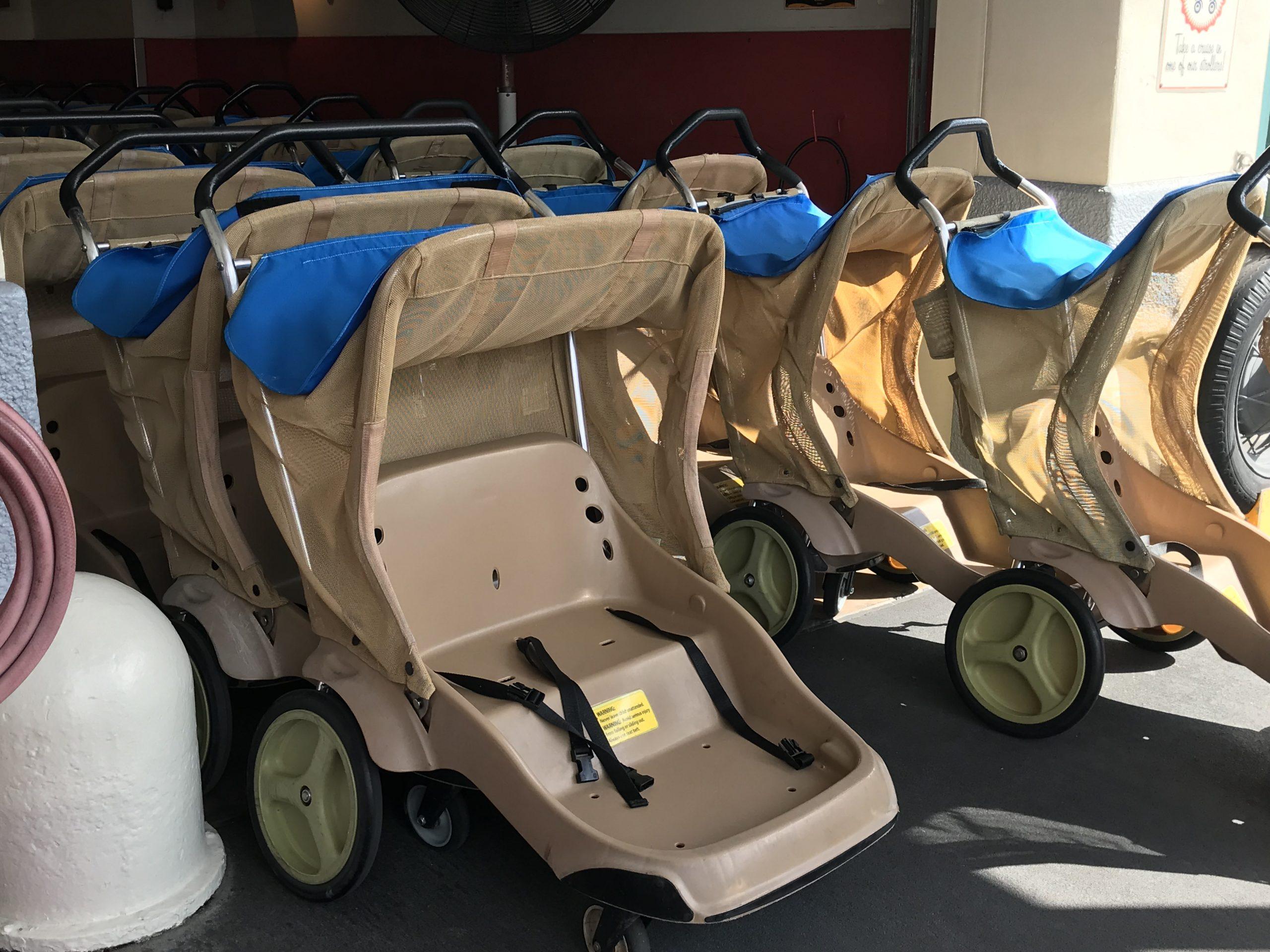 Rental Strollers at Walt Disney World