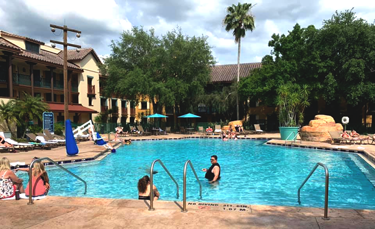 Ranchos Quiet Pool at Disney's Coronado Springs Resort