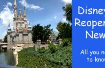 Disney reopening news
