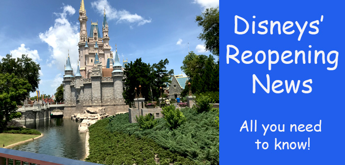 Disney reopening news