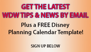 Disney World planning sign up