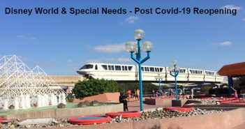 Disney world and special needs post covid 19