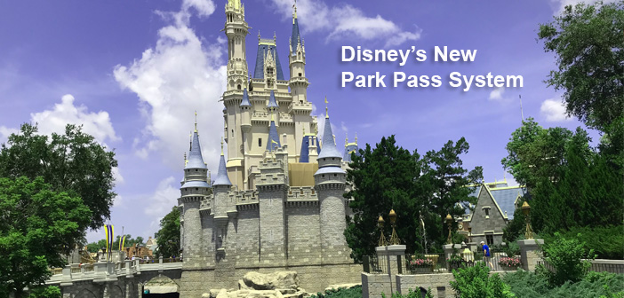 Disney park pass reservation system explained step by step