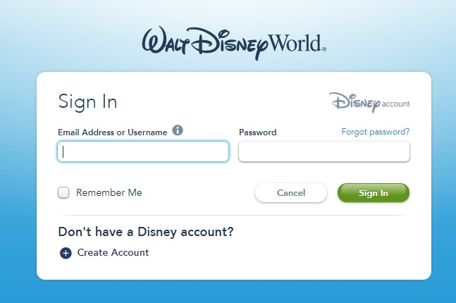 Disney park pass system 2