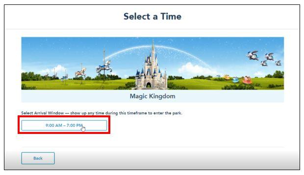 Disney park pass system 7