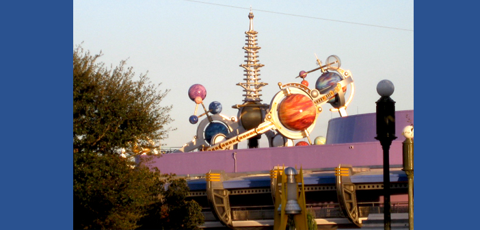 Astro Orbiter Disney World in Magic Kingdom