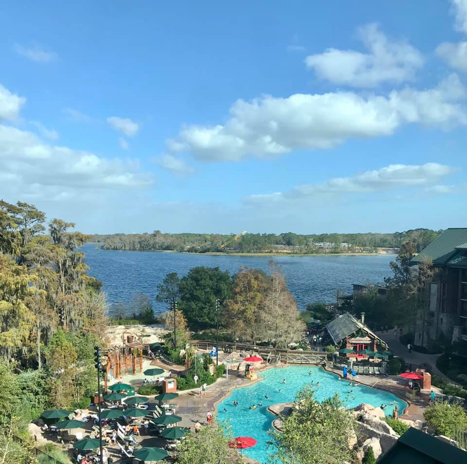 Wilderness Lodge Resort sits on Bay Lake