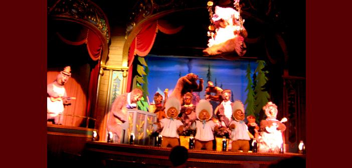 Country Bear Jamboree disney world magic kingdom