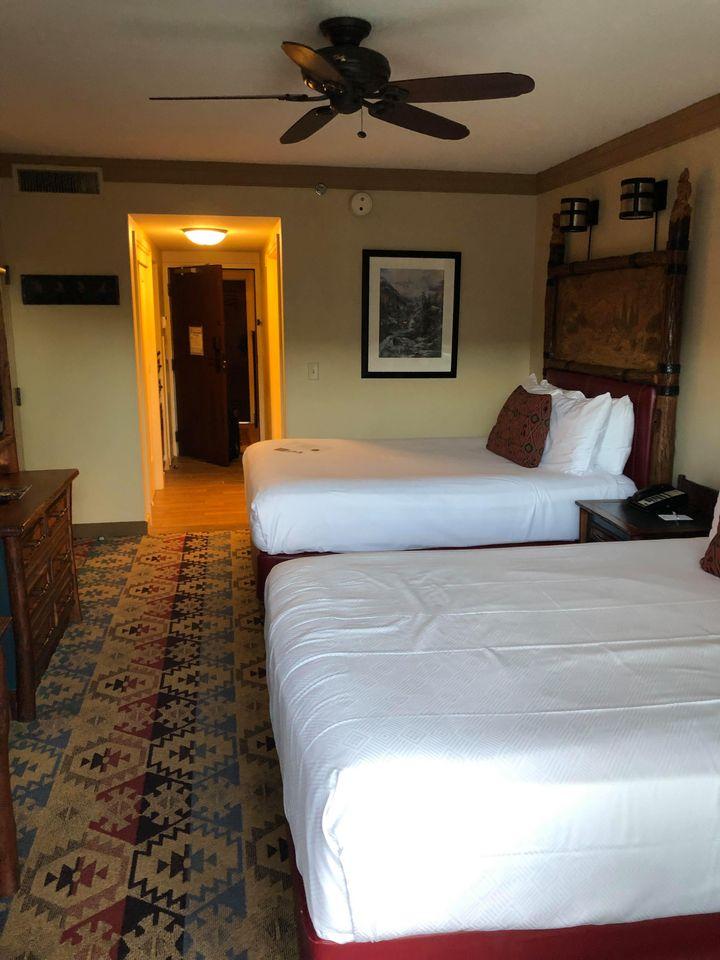 Standard room at Wilderness Lodge