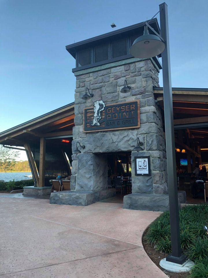 Geyser Point restaurant at Wilderness Lodge