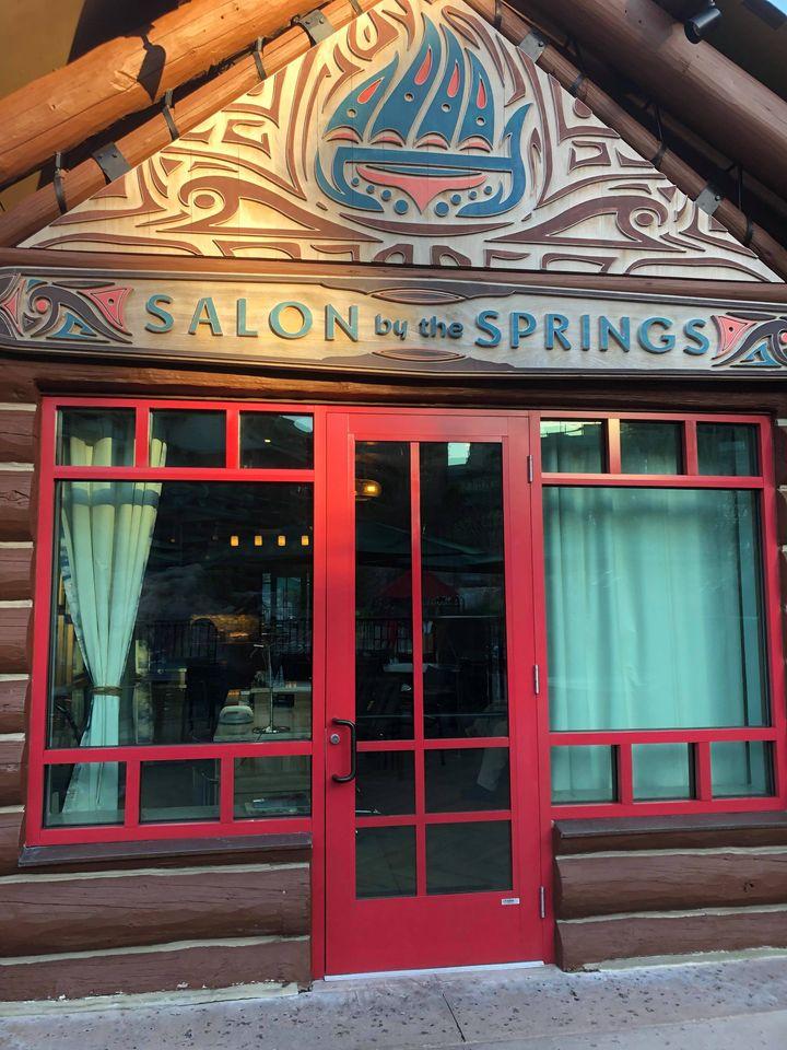 Salon at Wilderness Lodge