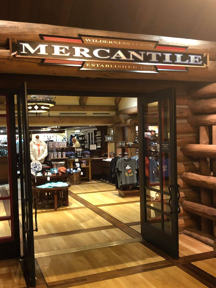 store at Wilderness Lodge