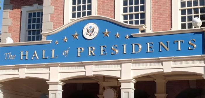 Hall of Presidents at Disney World Magic Kingdom