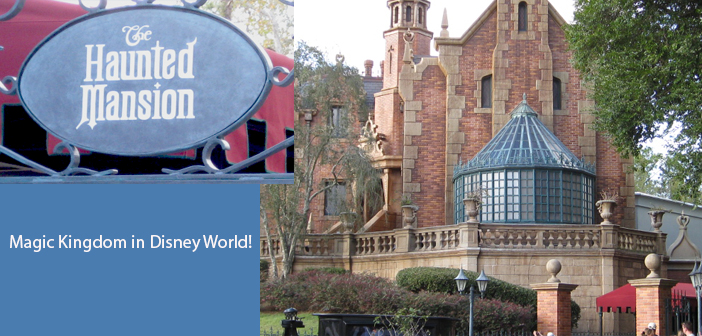 Haunted Mansion in Disney World's Magic Kingdom