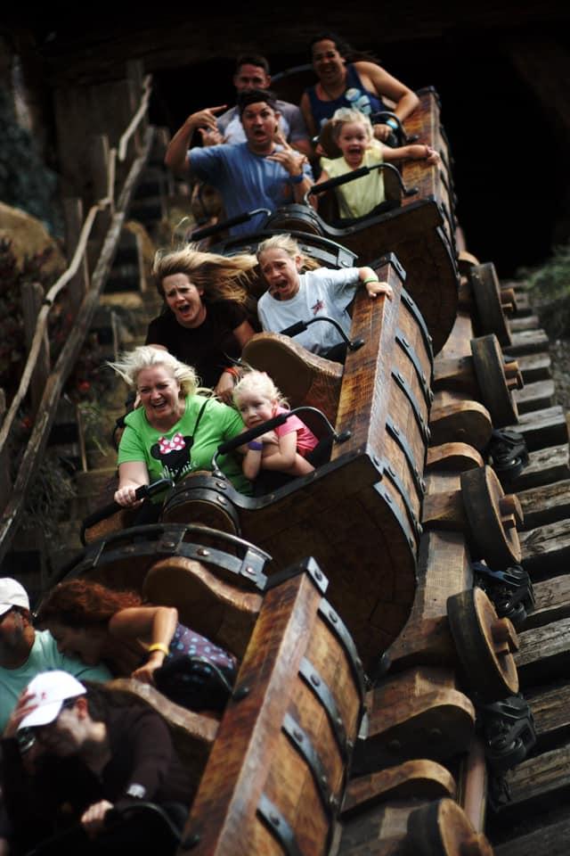 Seven Dwarfs Mine Train in Disney World - It can be scary!