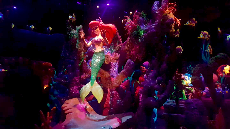 Little Mermaid ride - Ariel