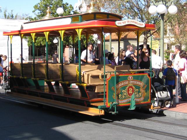 Main Street Vehicles in Disney World's Magic Kingdom - 1