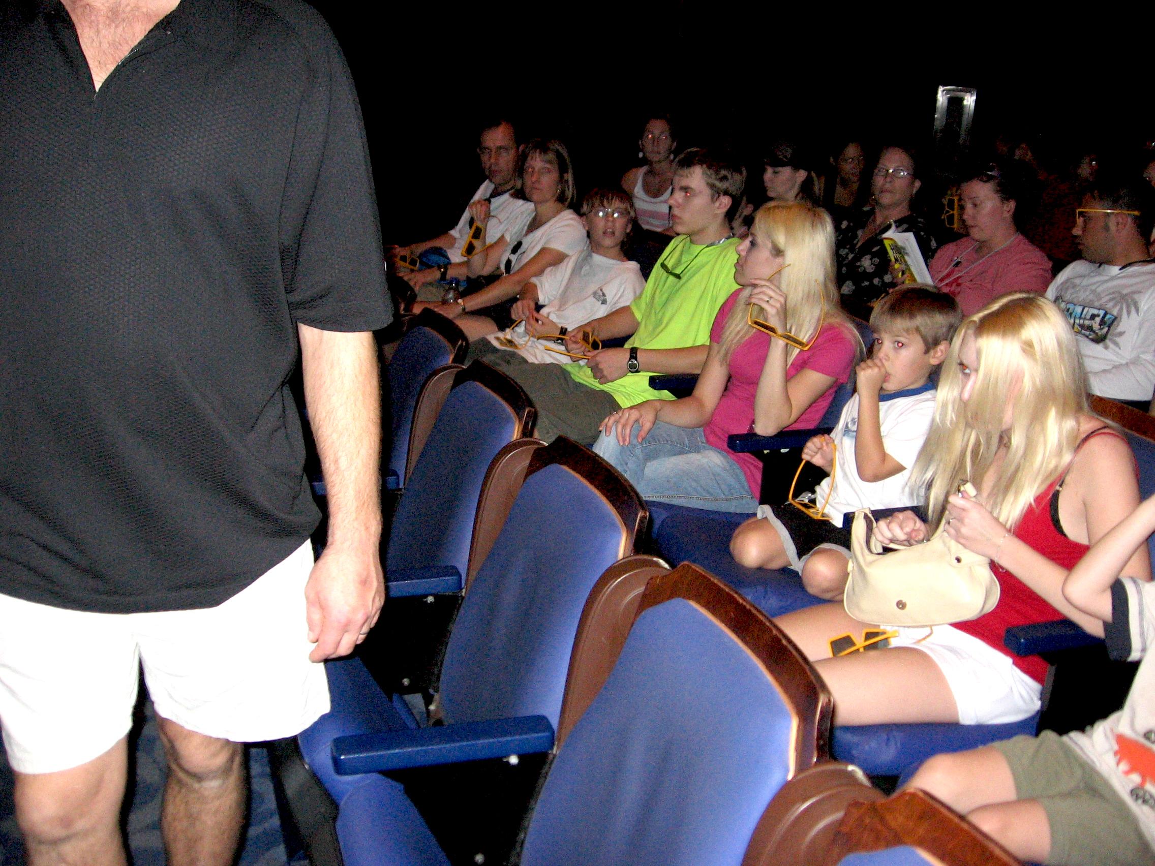 Mickey's PhilharMagic at Magic Kingdom in Disney World seating