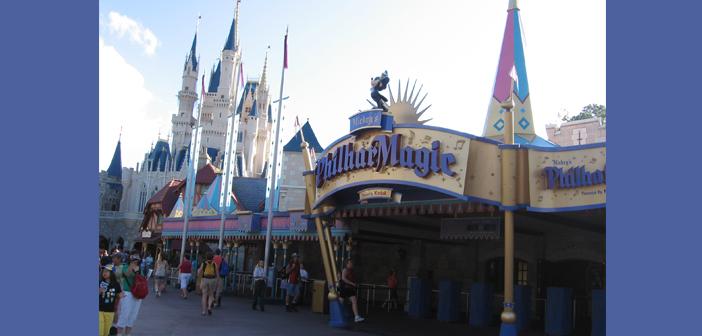 Mickey's PhilharMagic at Disney World Magic Kingdom