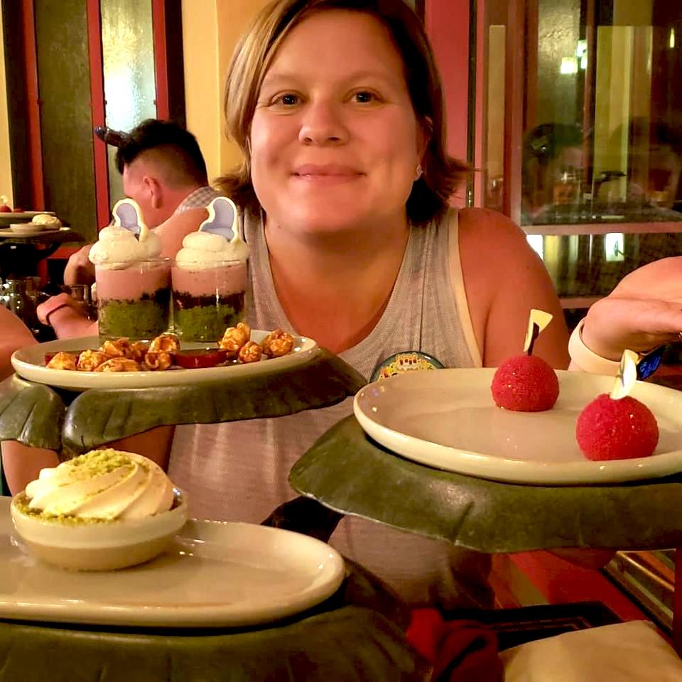 Snow White themed desserts (photo by Nikki Burgess-Kollinger)