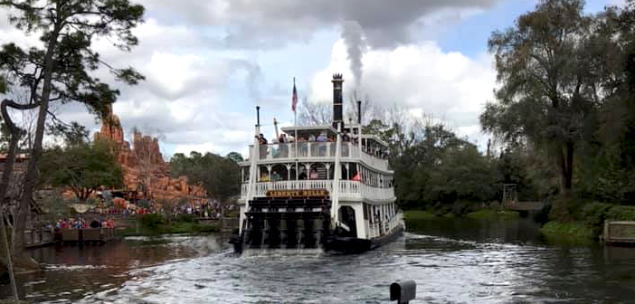 Liberty Square Riverboat in Magic Kingdom at Disney World