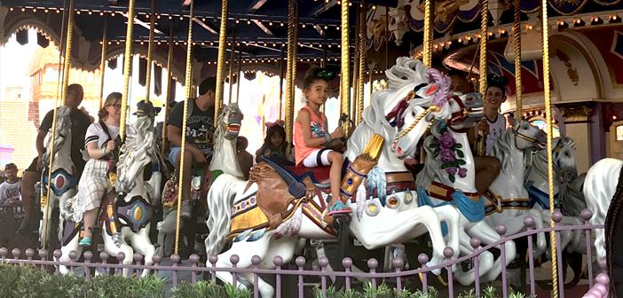 Prince Charming's Carousel Ride Magic Kingdom Disney World