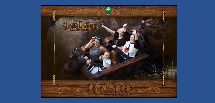 Seven Dwarfs Mine Train at Magic Kingdom in Disney World