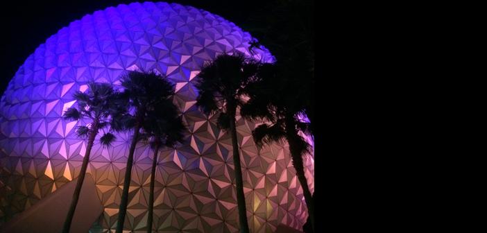 Spaceship Earth in Epcot at Magic Kingdom