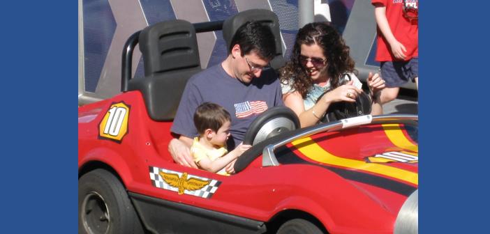 Tomorrowland Speedway in Magic Kingdom at disney world