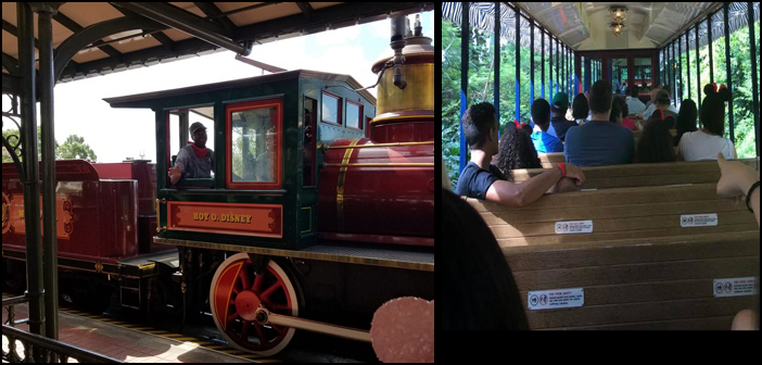 Walt Disney World Train in Magic Kingdom