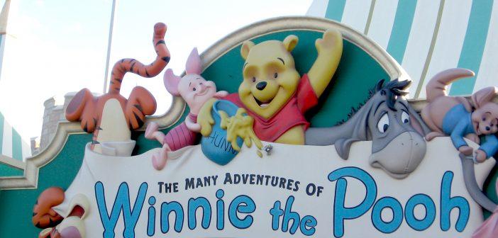 Winnie the Pooh ride at Magic Kingdom in Disney World