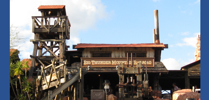 Big thunder mountain at disney world